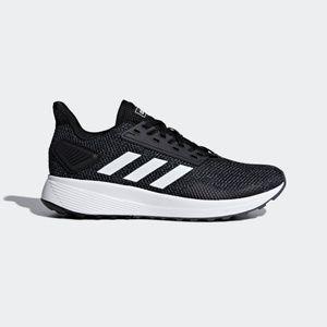 adidas Duramo 9 Black / White Women  Running Shoes